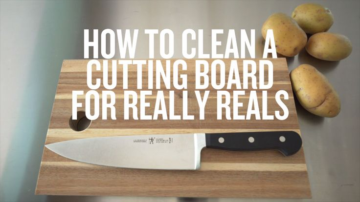 Your wooden cutting board has been through it all. And after cooking that gourmet meal (you're a total pro), it needs a good, thorough cleaning. But not with soap and water. Here's how to get your trusty piece of wood really, really clean. Oh and maybe grab a pair of rubber gloves to do the deed.