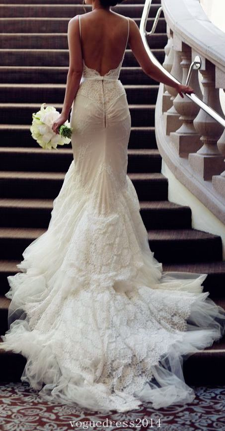 beautiful backless wedding dresses