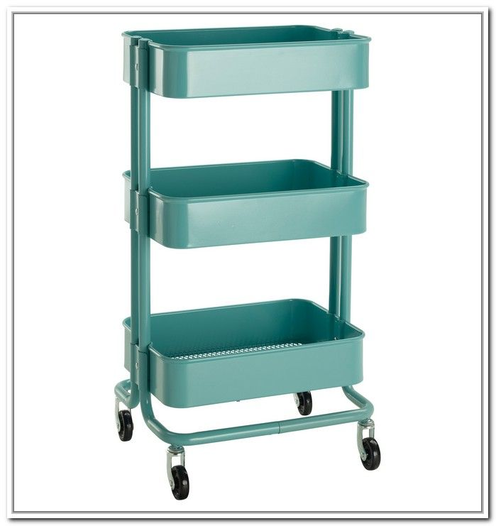 25 best ideas about kitchen storage cart on pinterest for Ikea metal cart with drawers