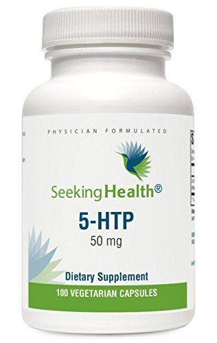 5-HTP | 5-Hydroxytryptophan | 50 mg | 100 Vegetarian Capsules | Seeking Health | Physician-Formulated  //Price: $ & FREE Shipping //     #health