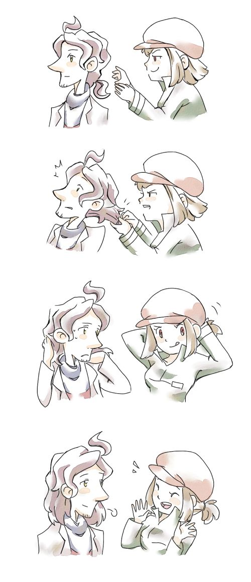 """Layton Brothers: Mystery Room - """"I can pull off that hairstyle, too!!"""""""