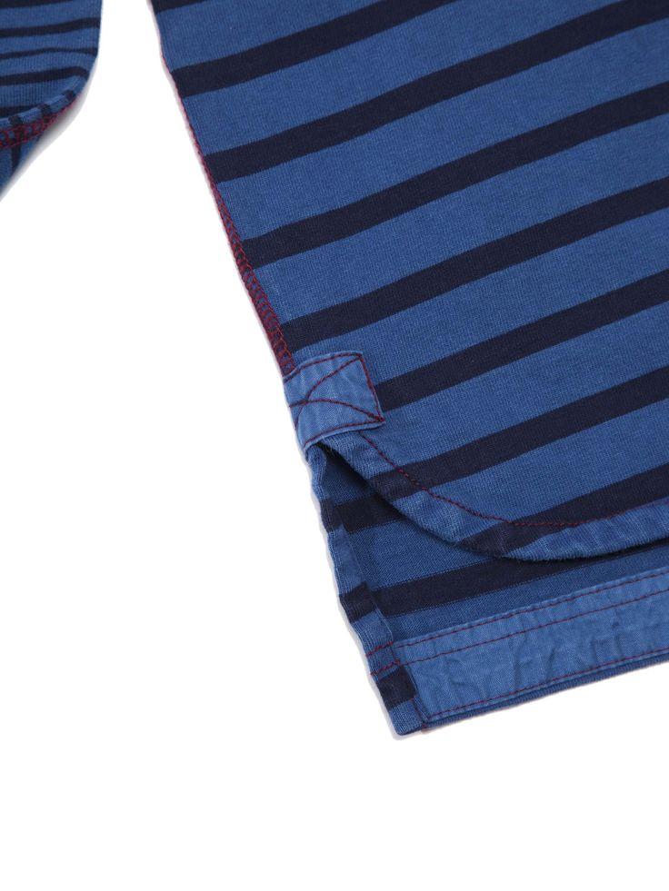 Striped Indigo Sweatshirt