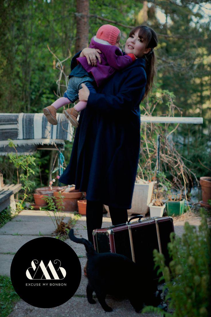 Grace Coat Photo: Sanna Saastamoinen-Barrois Make up: Janne Suono Models: Ninja Sarasalo & Billie Barrois