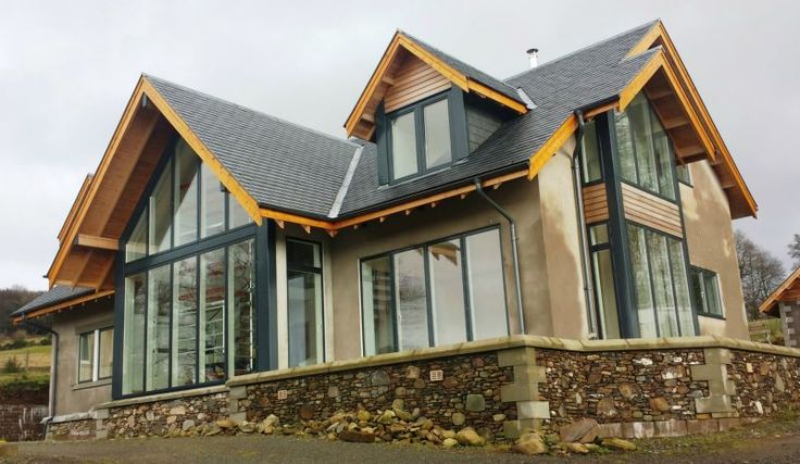 Timber Frame, Self Build Houses Images, Plans And Design Galleries Scotland  U0026 UK   Fleming Homes Timber Frame Scotland | House | Pinterest | Build House,  ...