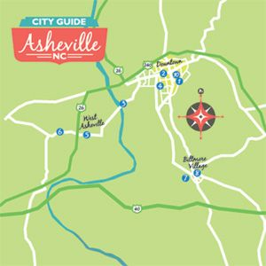 48 Hours in Asheville: A Weekend Guide  -  Short on days? Here's a strategic play-by-play that let's you sample both beloved standbys and burgeoning must-dos in a time-sensitive sequence. (Southern Living Oct 2011)