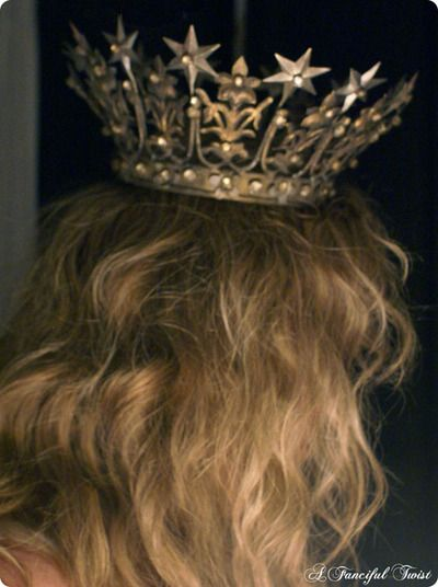 In my crown, proclaiming ownership of the world's tallest cupcake...: Queen, Fairytales Ii, Wear
