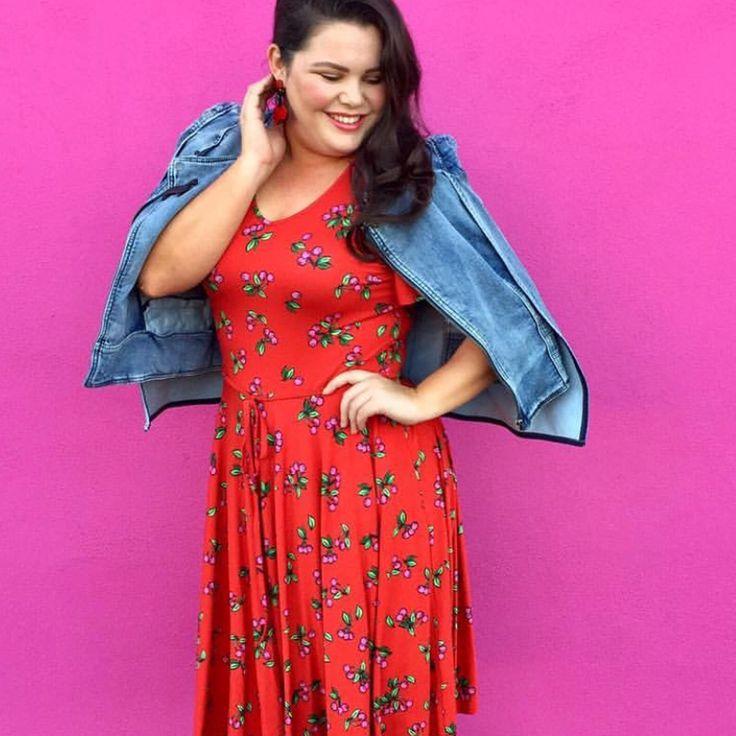 Oh My Cherry Pie Dress in Cherry