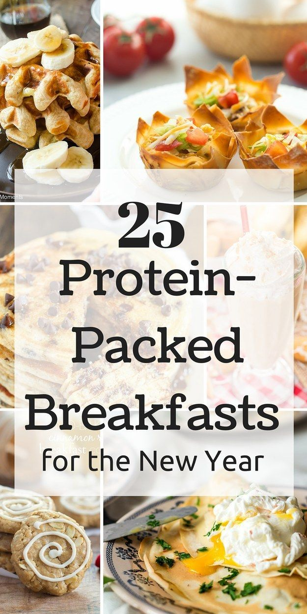 25 Protein-Packed Breakfasts For The New Year