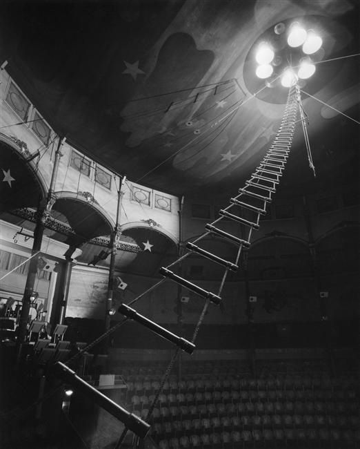 Vintage Circus. This is just an interesting visual/lighting element.