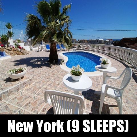 New York (9 SLEEPS) Costa Maresme - Santa Susanna