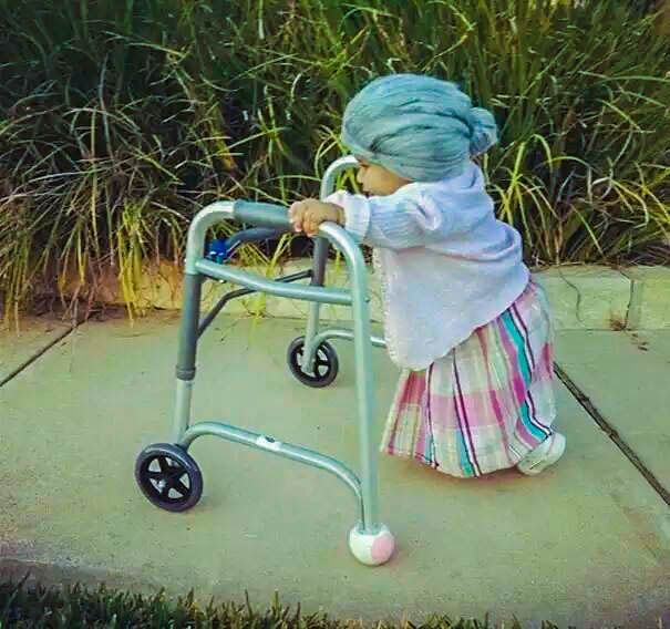 the cuttest little granny