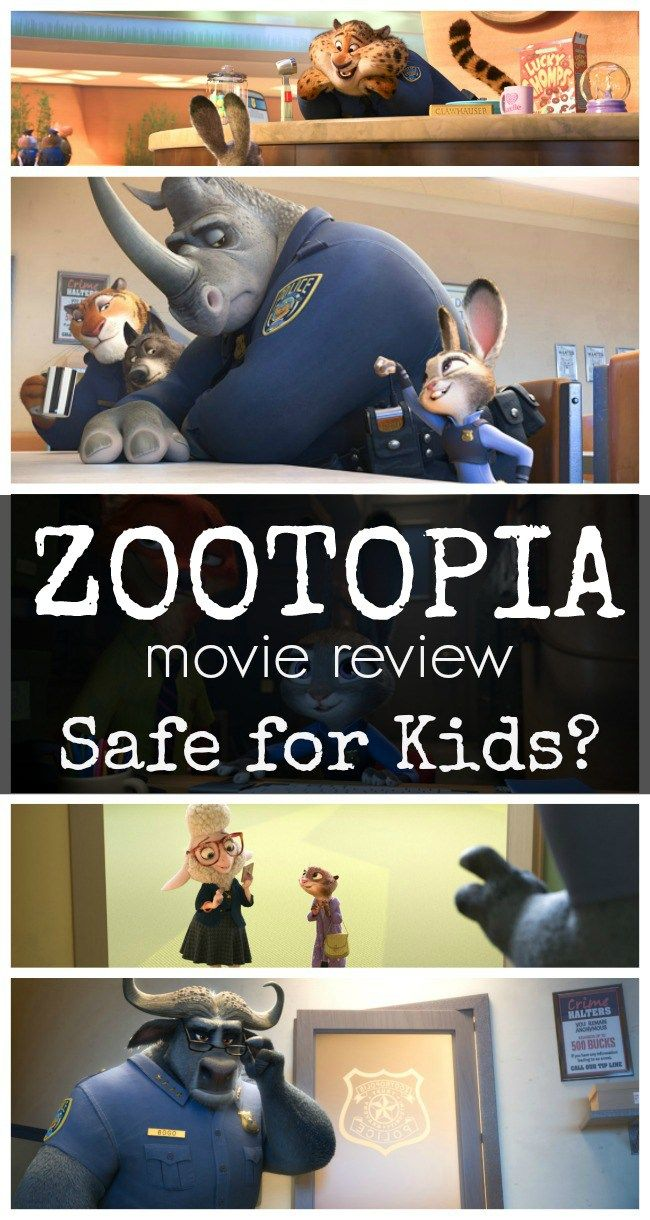 Zootopia Movie Review | Safe for Kids? Full Disney Zootopia movie review for parents - no spoilers! What about the PG rating?