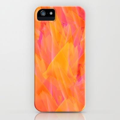 Tulip Fields #105 iPhone & iPod Case by Gréta Thórsdóttir - $35.00