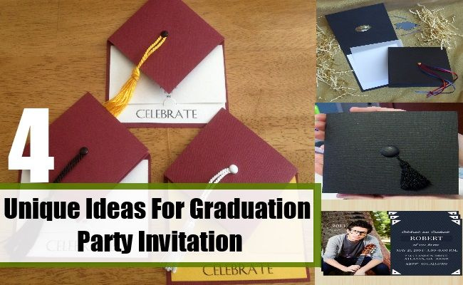 Party invitations do not have to be printed on paper all the time.