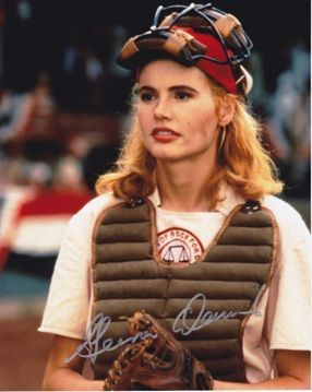A League of Their Own ~ Geena Davis | Geena Davis | Pinterest