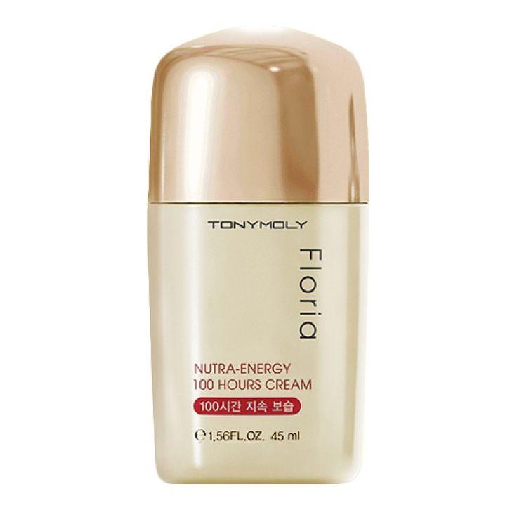 Питательный и увлажняющий крем для лица. Подходит для сухой и чувствительной кожи. Floria Nutra-Energy 100 Hours Cream действует на протяженпи 100 часов