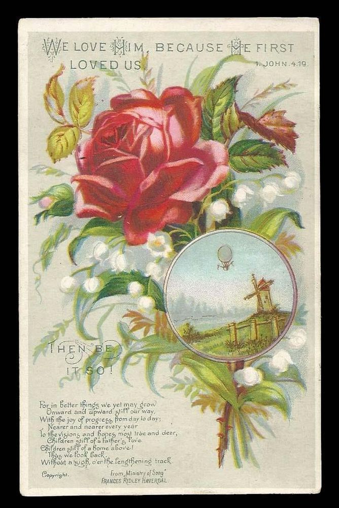 Image result for Victorian scripture paintings with roses for children