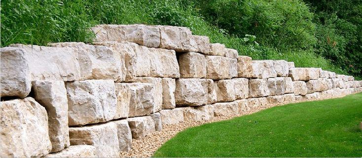 подпорные стенки, подпорные стены, устройство подпорной стенки, укрепление склона,