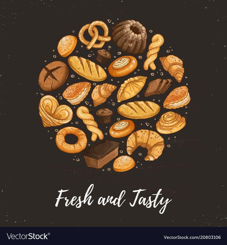 постер для пекарни