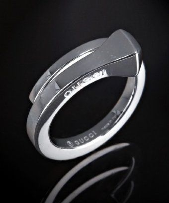 horseshoe nail ring. love this!