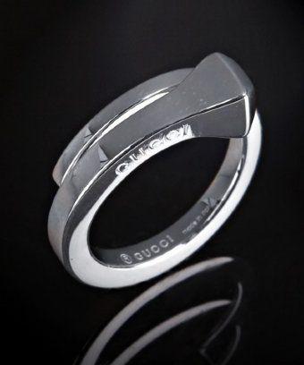 horseshoe nail ring. love this!
