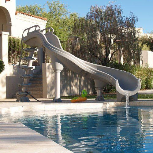 Swimming Pool Slides for InGround Swimming Pools - Slides from In The Swim