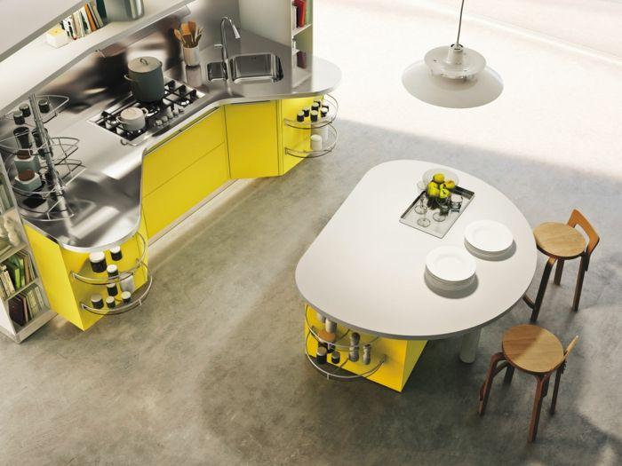 19 besten Küche Bilder auf Pinterest Küche esszimmer, Projekte - sonne scheint gelben kuche