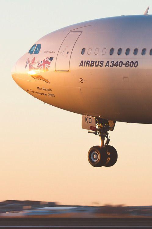 Virgin Atlantic Airbus A340-642