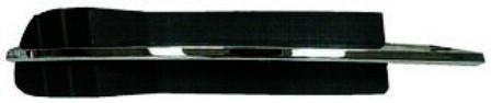 2008-2012 Chevy Malibu Lower Outer Grille RH W/O Fog Lamp Malibu LS;LT