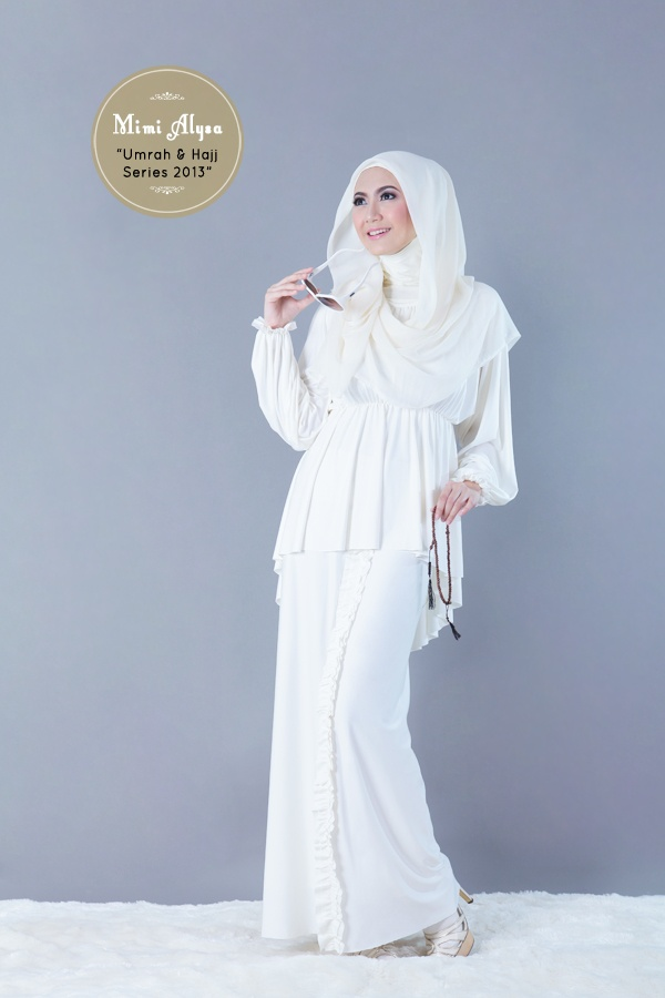 "#Mimi Alysa - ""Maika Set"" - Umrah and Hajj Series 2013"