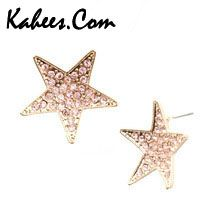 Star earrings 14k gold. Special discount on this beautiful earring, place an order just in $19 http://www.kahees.com/product/star-earrings-14-k-gold/…