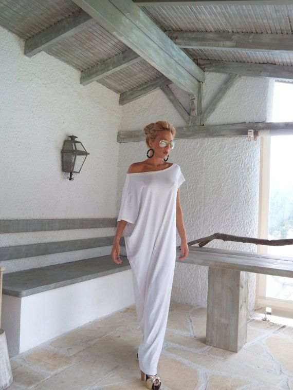 maxi-dress-white-kaftan-asymmetric