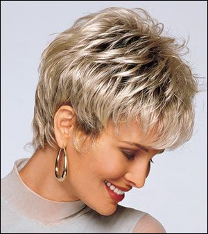Short Choppy Hairstyles For Women | Alan Eaton Wigs, Hair Extensions, Hairpieces