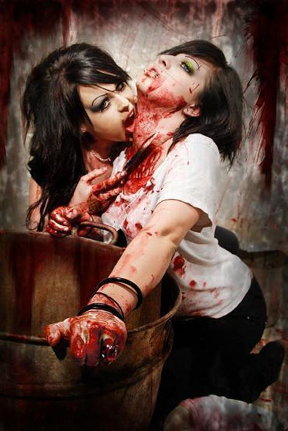 Girl blood pic porn pic