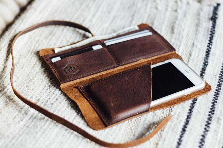 wrap wallet + phone sleeve