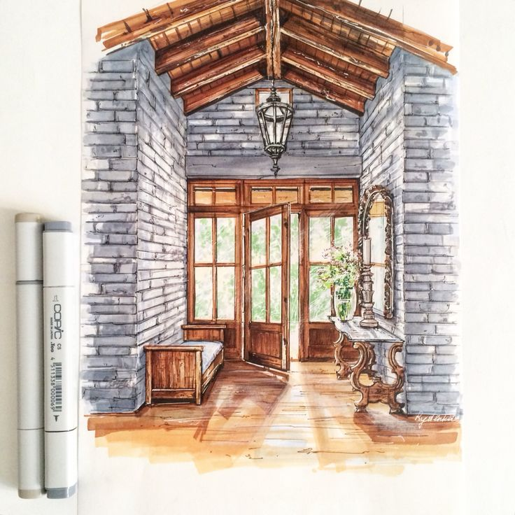 Sketching marker copic