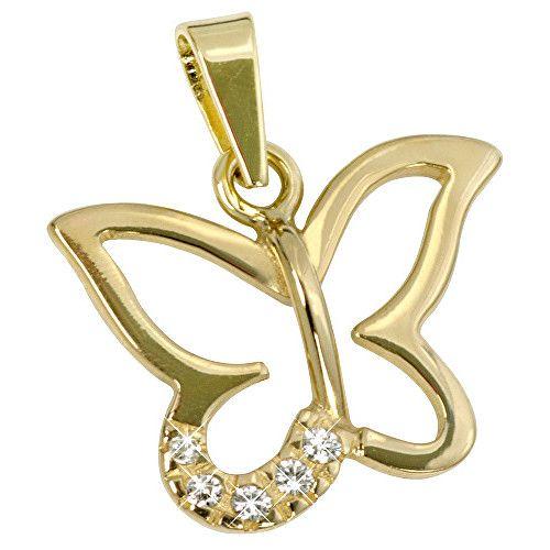 Brilio Pandantiv fluture din aur 249 001 00420 - 0,75 g