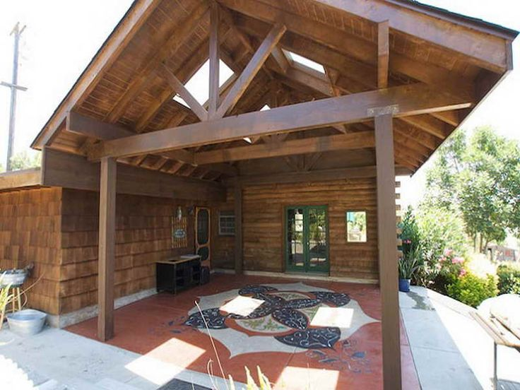 DIY Outdoor Covered Patio Ideas