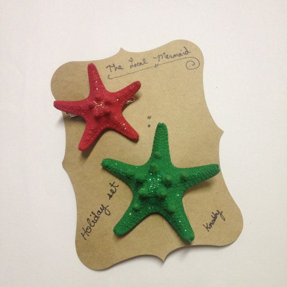 SALE ITEM: starfish hair clip