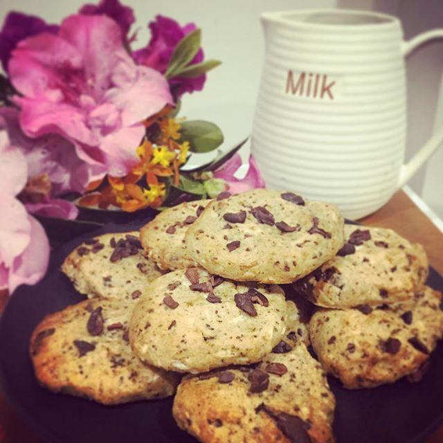 Gluten free vegan choc chip cookies