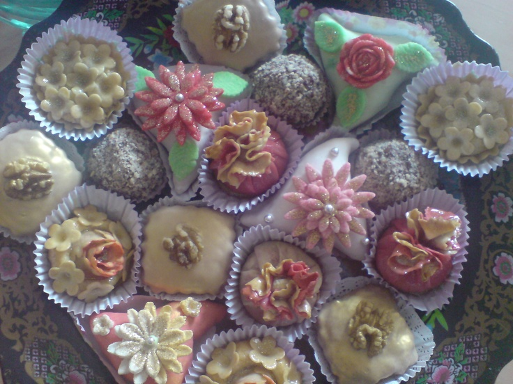These are the most beautifully decorated cookies all you will ever see. The time and care that is taken into making them seems beyond your imagination. They are so beautiful that you may feel bad to eat them but once you take your first bite all of your care in the world wont matter because as beautiful as they are they taste even better.