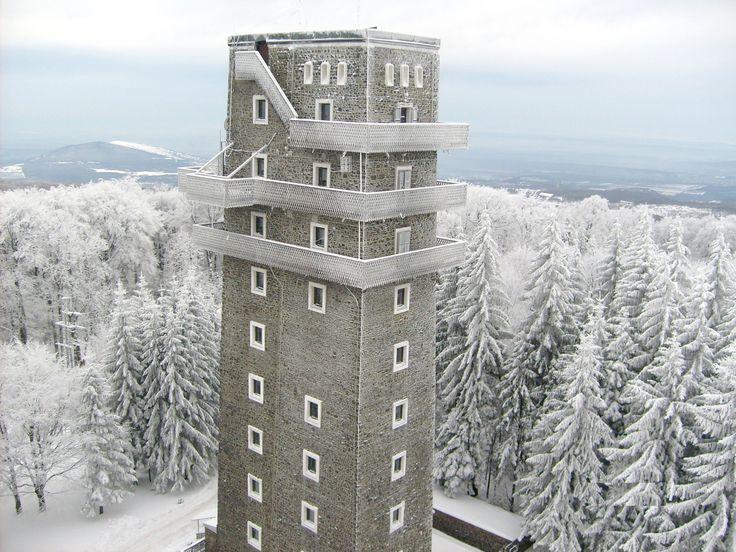 Magyarország - Mátra - Kékestető 1014 méter