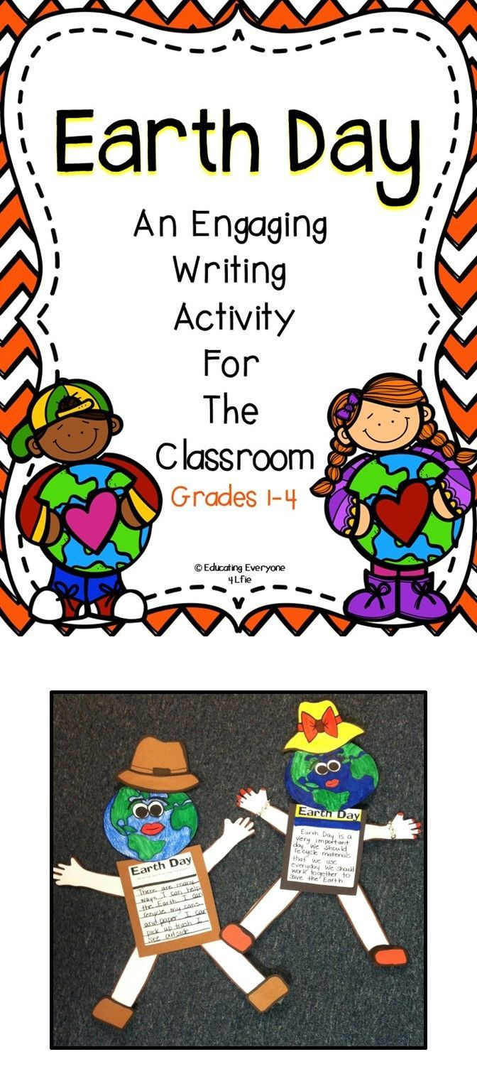 Classroom Ideas / Classroom Activities - Children will have fun with this engaging writing lesson all about Earth Day!