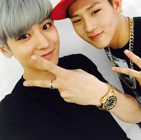 chanyeol jooheon - instagram