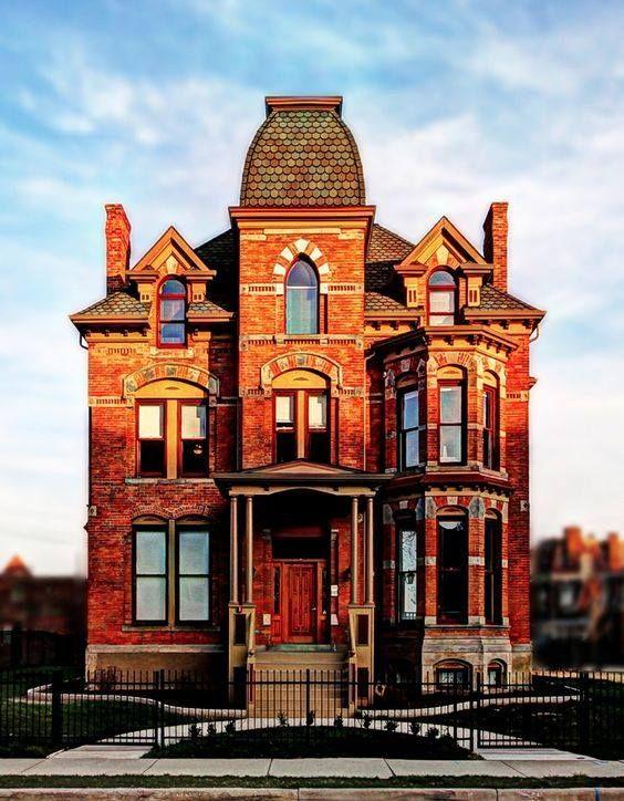 Mejores 1018 im genes de victorian houses en pinterest - Arquitectura victoriana ...