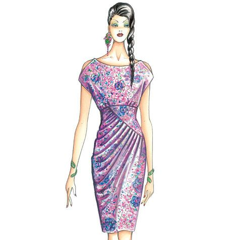 F3631, Marfy Dress