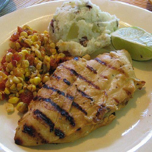 Secret Copycat Restaurant Recipes – Applebee's Tequila Lime Chicken Restaurant Recipe with Mexi-Ranch Dressing