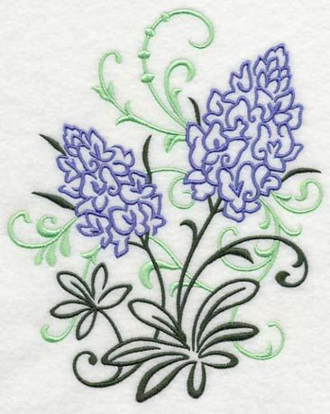 Bluebonnet Filigree