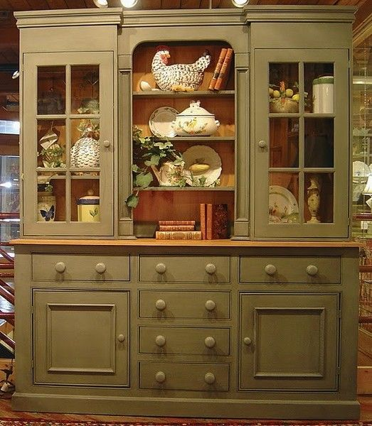107 best china hutches cabinets images on pinterest for British traditions kitchen cabinets