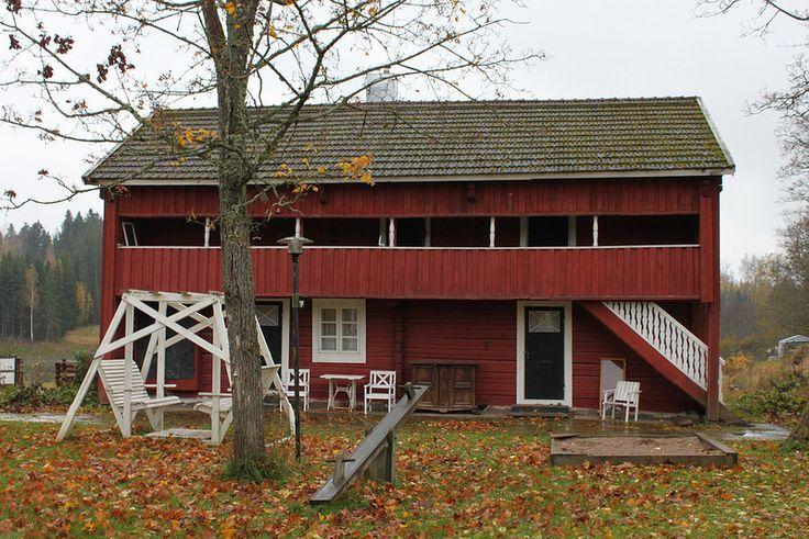 Koivulan Kartanon aitta   by visitsouthcoastfinland #visitsoutcoastfinland #Finland #koivulankartano #aitta #granary